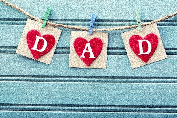 Father's day special : To a true father ..