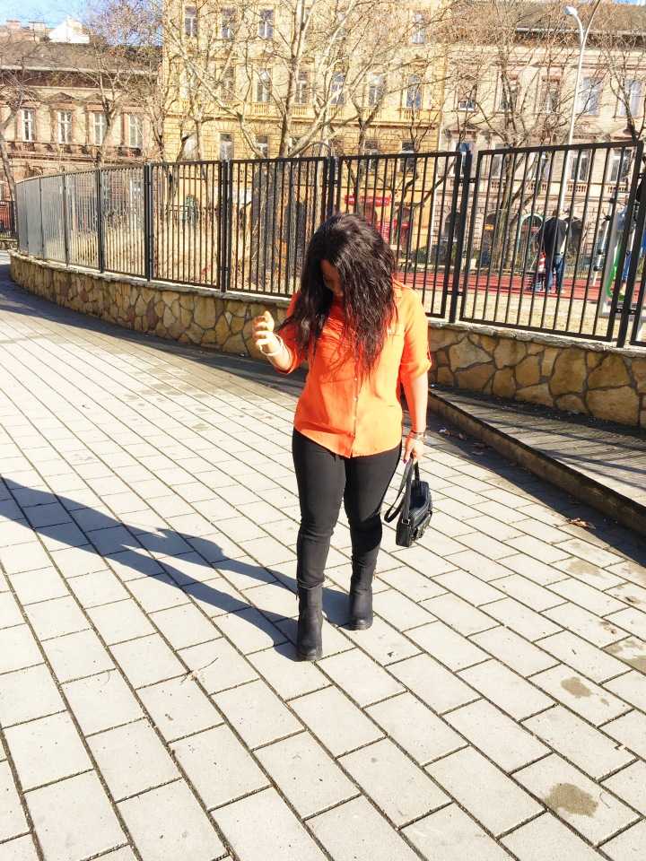 What I Wore || ORANGE IS THE HAPPIEST COLOR!