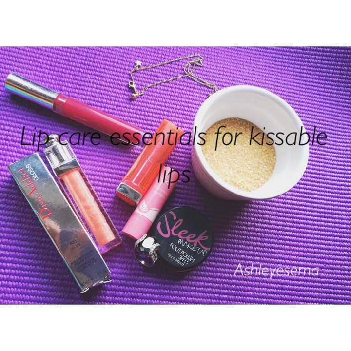SKINCARE || LIPCARE ESSENTIALS FOR BEAUTIFUL, KISSABLE LIPS ;)
