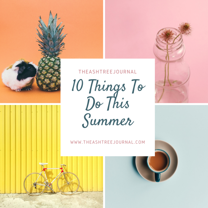 THE ULTIMATE SUMMER BUCKET LIST || 10 Ways To Kill Boredom This Summer