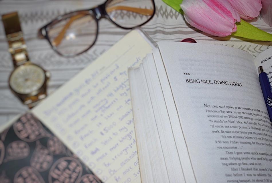 tha ash tree journal blogging goals