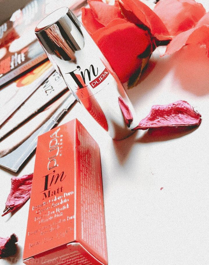 pupa milano lipstick review