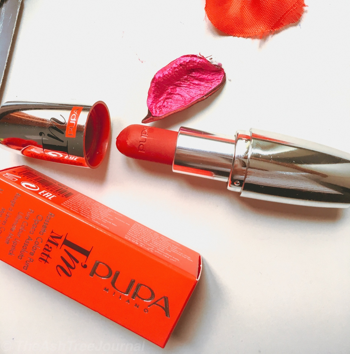 Product Review : The Perfect Red Lipstick From PUPA Milano