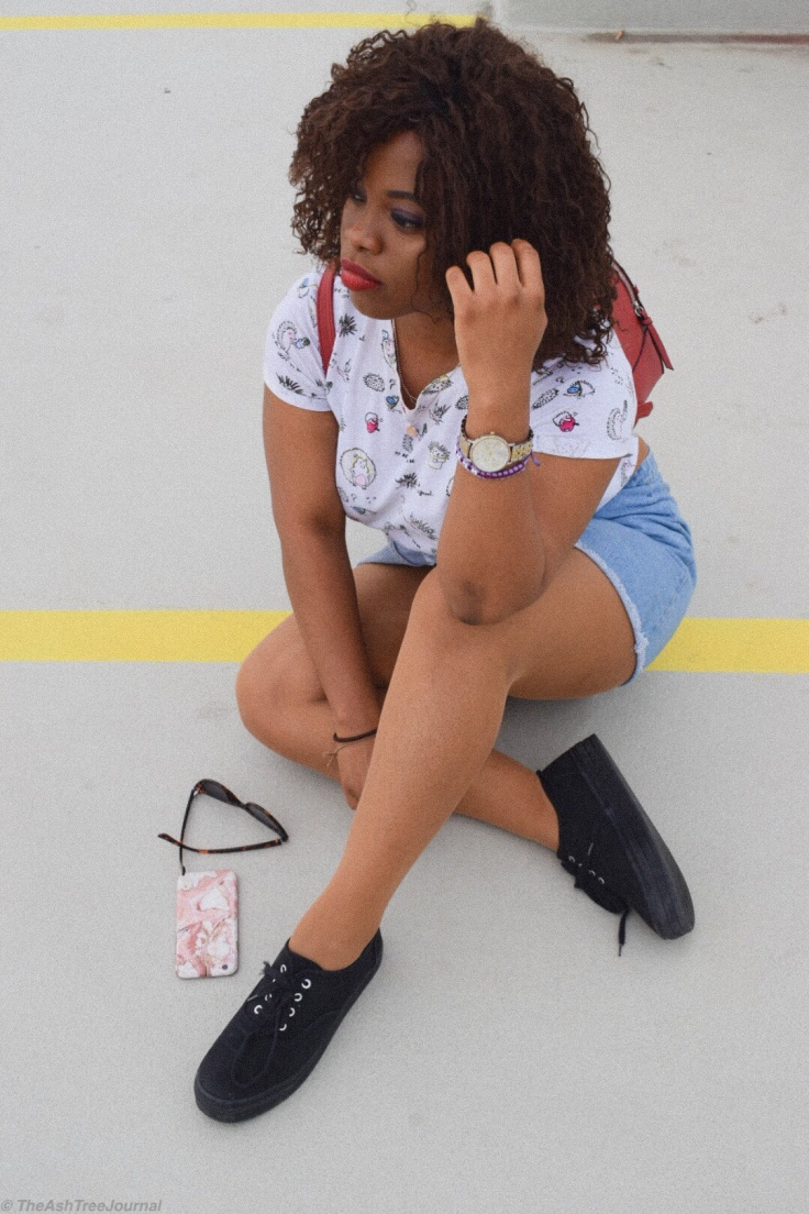 Pictures from post : Why I'm loving denim skirts