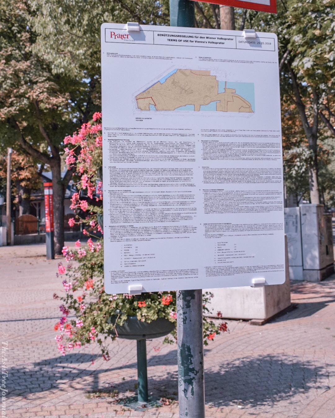 the ash tree journal prater park vienna rides