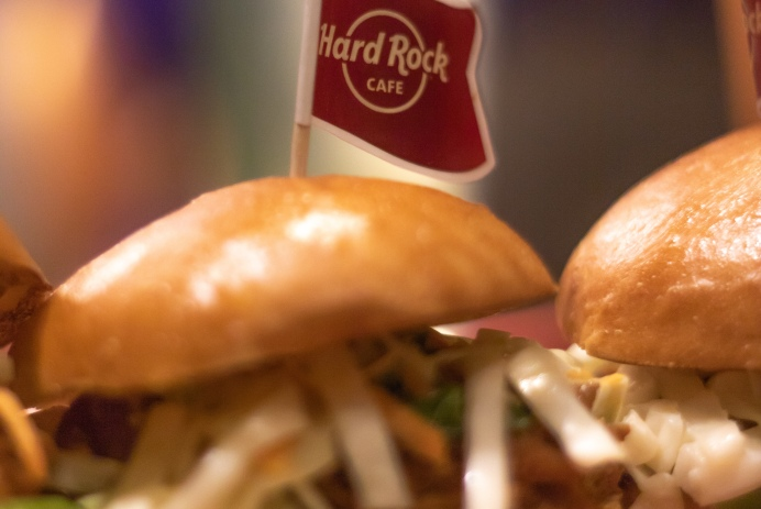 the ash tree journal hard rock cafe infused with love menu bourbon sliders