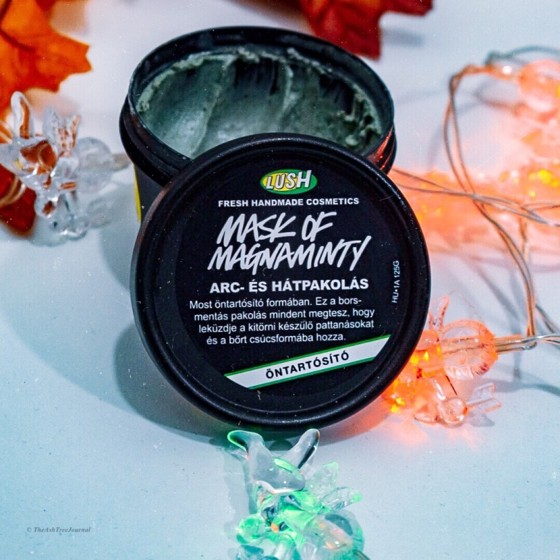LUSH Mask of Magnaminty Review The Ash Tree Journal