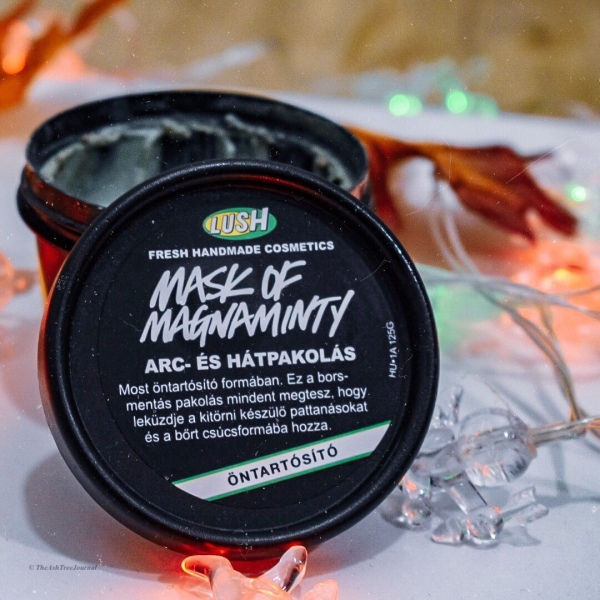 lush mask of magnanminty review, the ash tree journal