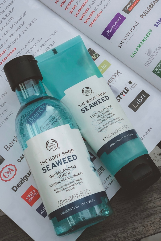 THE BODY SHOP SEAWEED DEEP CLEANSING GEL WASH REVIEW