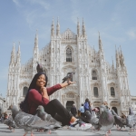 travel to milan italy, the duomo cathedral the ash tree journal