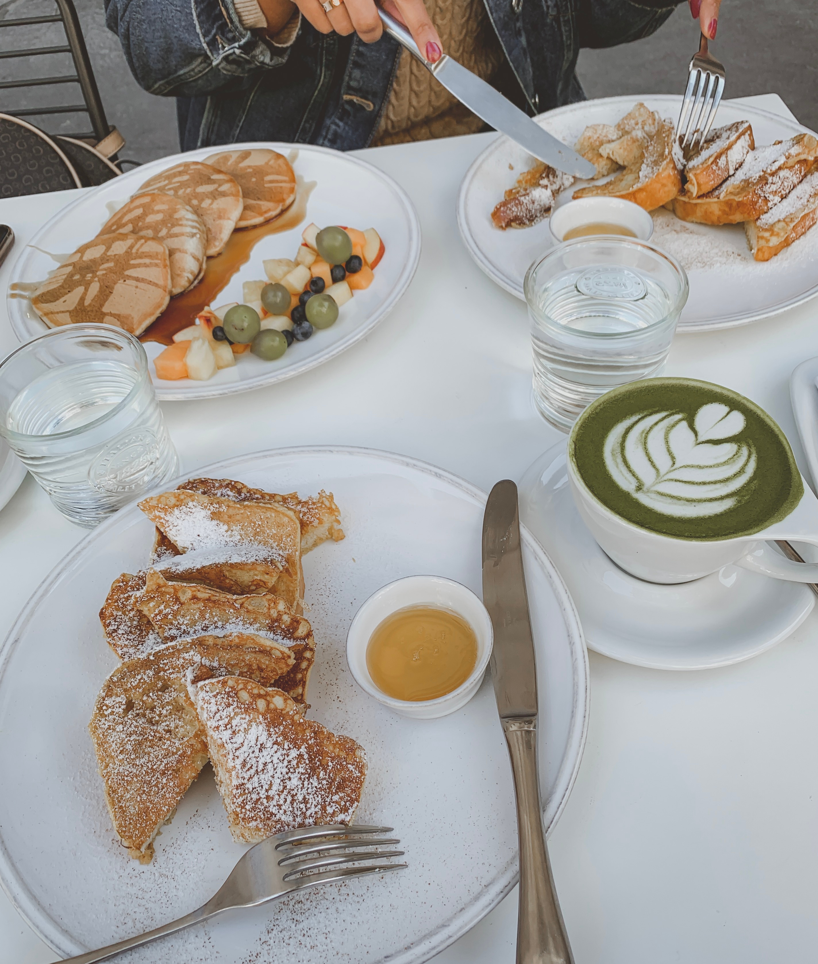brunch at six letter, budapest. The Ash Tree Journal