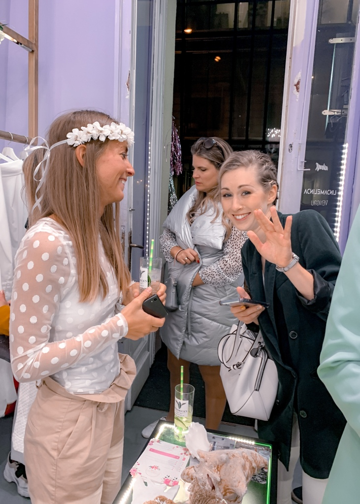 linda melinda opening party SS19 by the ash tree journal